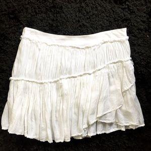 NEW PAIGE white mini skirt S/Small super cute 🌟